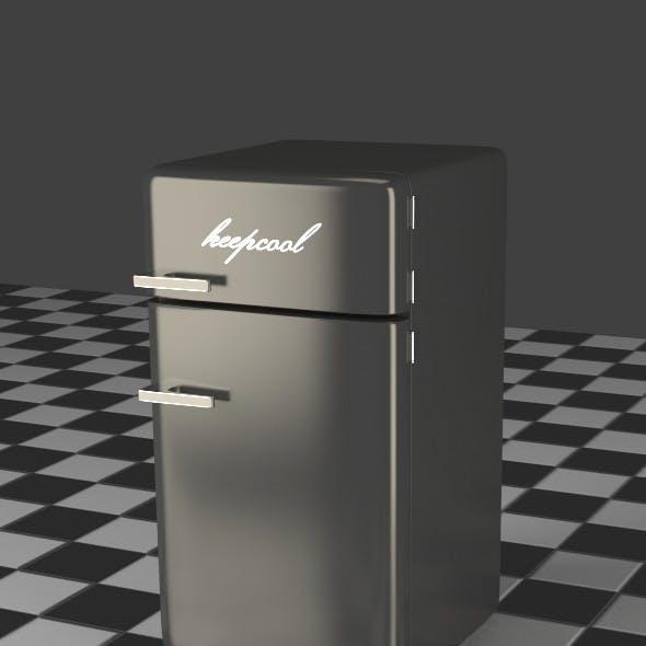 Fridge Freezer Combi gray