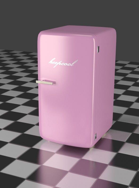Refrigerator Pink - 3DOcean Item for Sale