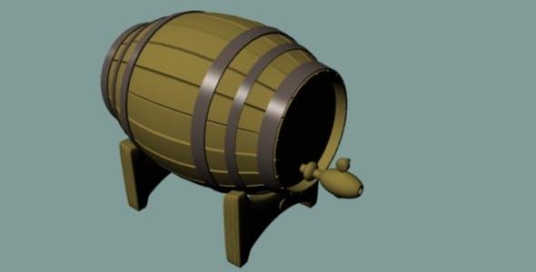 Barrel - 3DOcean Item for Sale