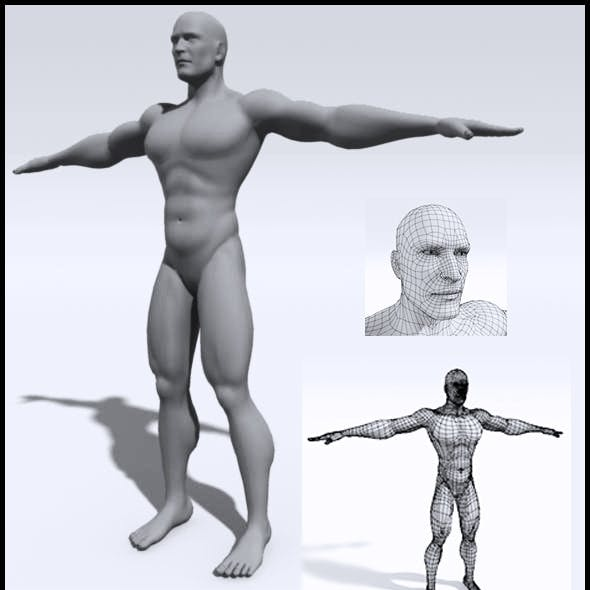 Male: Base Mesh (High Poly)