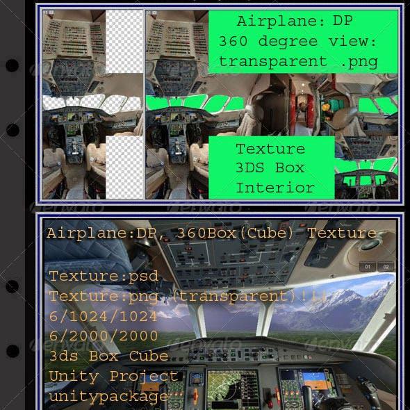 Airplane DP interior