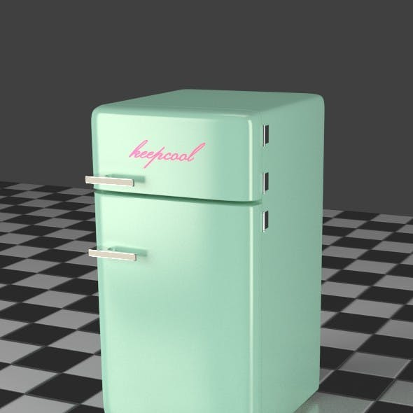 Fridge Freezer Combi mint