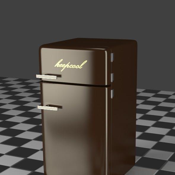 Fridge Freezer Combi brown