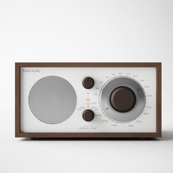 Tivoli audio 3D Model - c4d+vray
