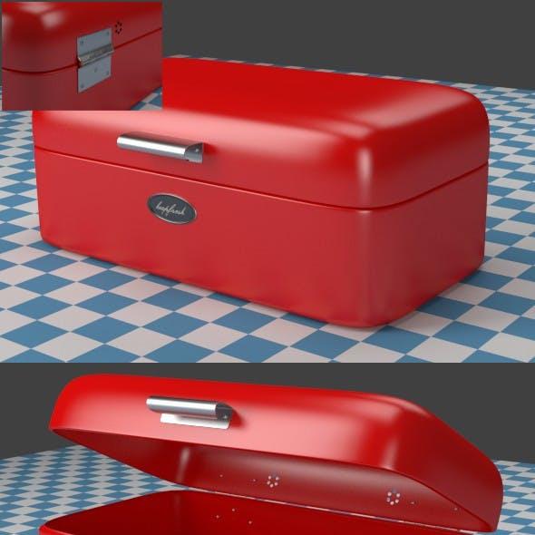 Breadbox red