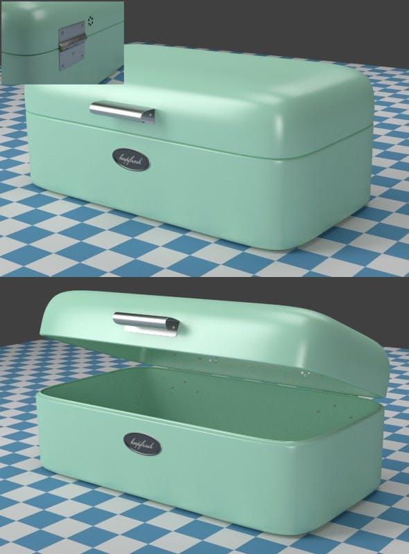 Breadbox mint - 3DOcean Item for Sale