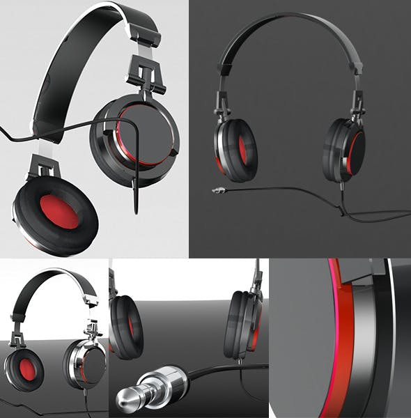 Headphone - 3DOcean Item for Sale