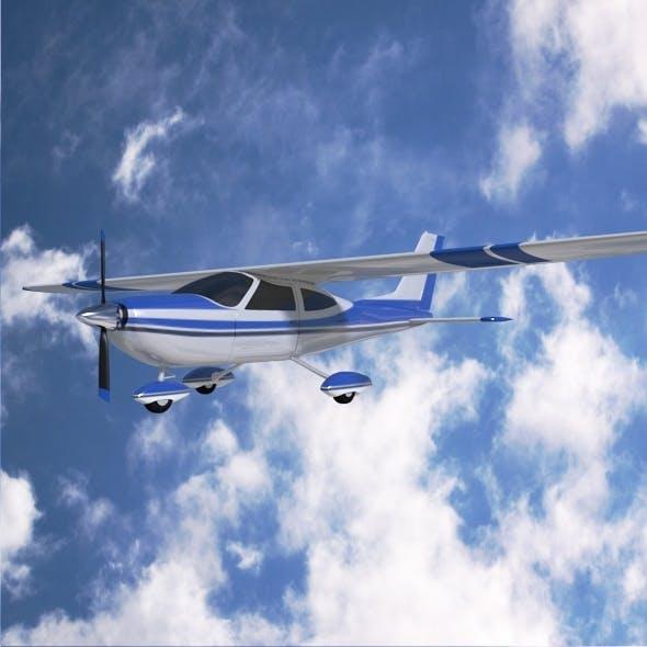 Cessna Cardinal propeller airplane