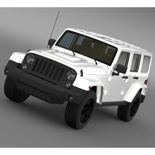 Jeep Wrangler Unlimited Rubicon X 2014 - 3DOcean Item for Sale