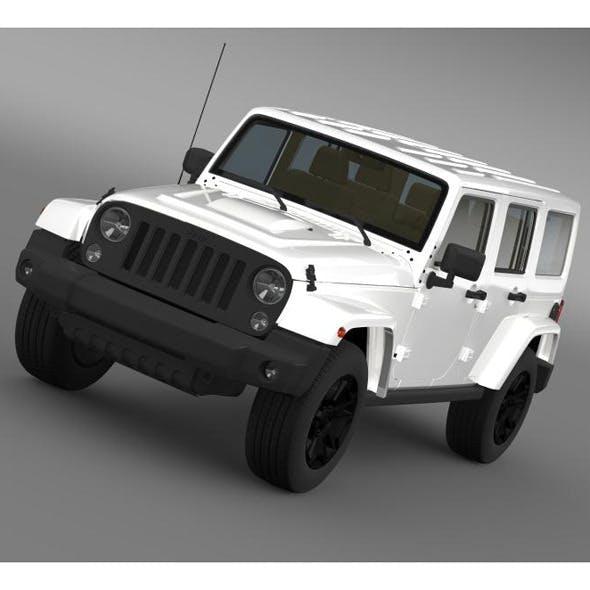 Jeep Wrangler Unlimited Rubicon X 2014