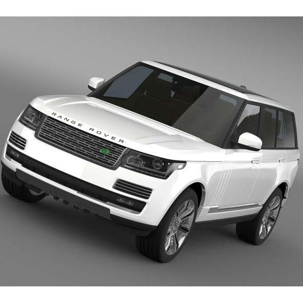 Range Rover Autobiography Black L405 2014 - 3DOcean Item for Sale