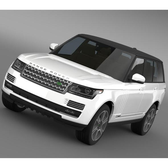 Range Rover Autobiography Hybrid L405 - 3DOcean Item for Sale