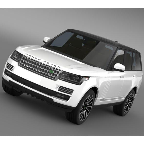 Range Rover Autobiography V8 L405 - 3DOcean Item for Sale