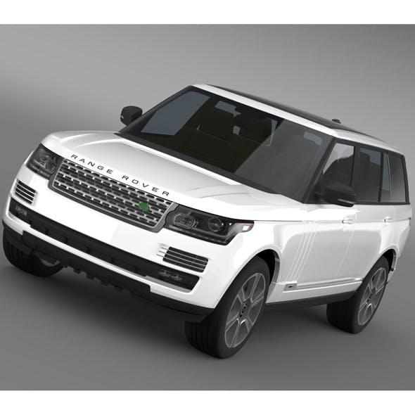Range Rover Hybrid LWB L405 - 3DOcean Item for Sale
