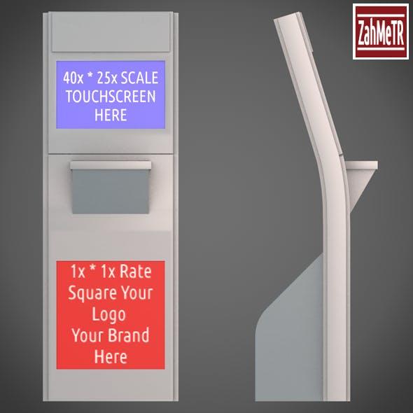Kiosk Terminal 4 - 3DOcean Item for Sale