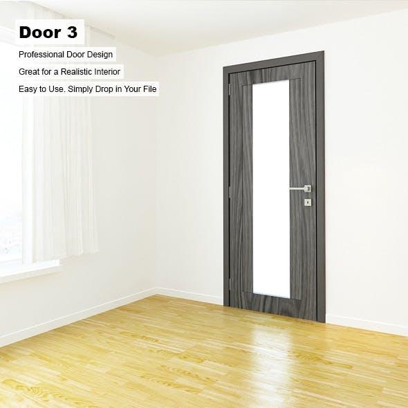 Door 3 - 3DOcean Item for Sale