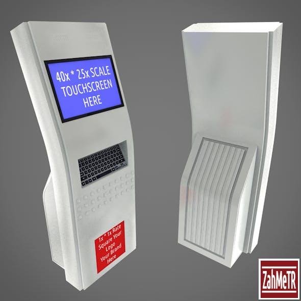 Kiosk Terminal 5 - 3DOcean Item for Sale