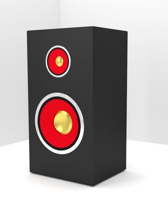 Speaker - 3DOcean Item for Sale