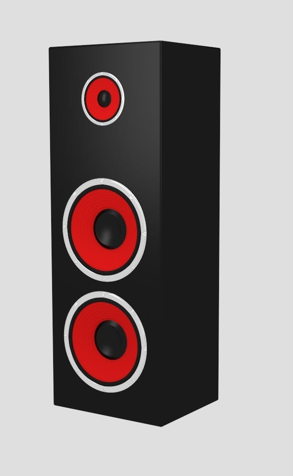 Big Speaker - 3DOcean Item for Sale