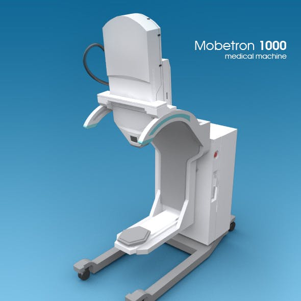 The Mobetron 1000 - medical machine