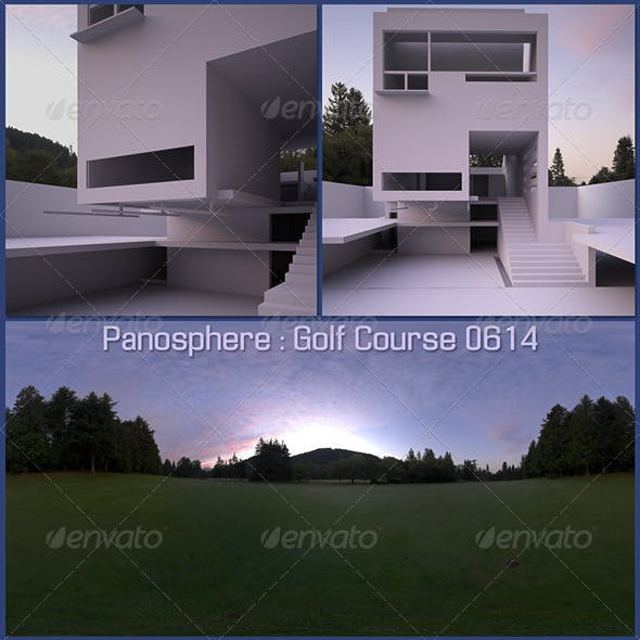 Panosphere HDRI - Golf Course 0614