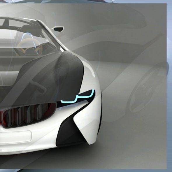 BMW I8 Vision Concept