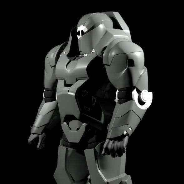 Hard Surface Character Sci-fi