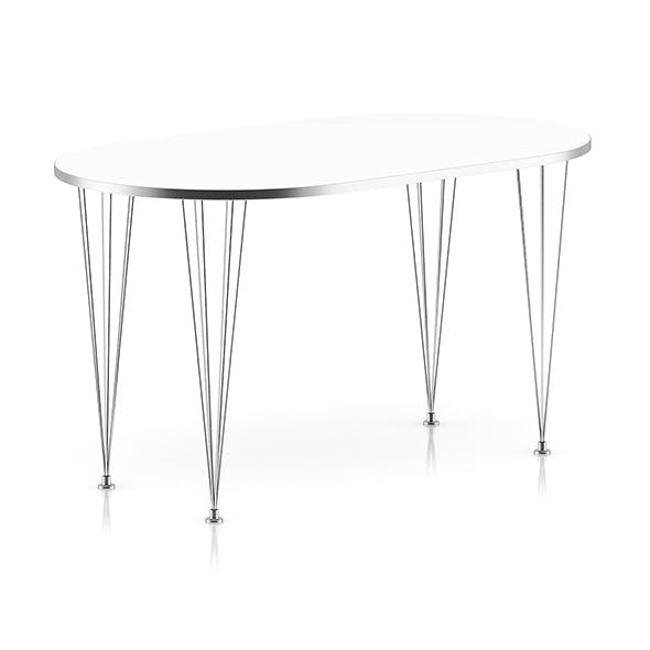 Modern Metal Table - 3DOcean Item for Sale