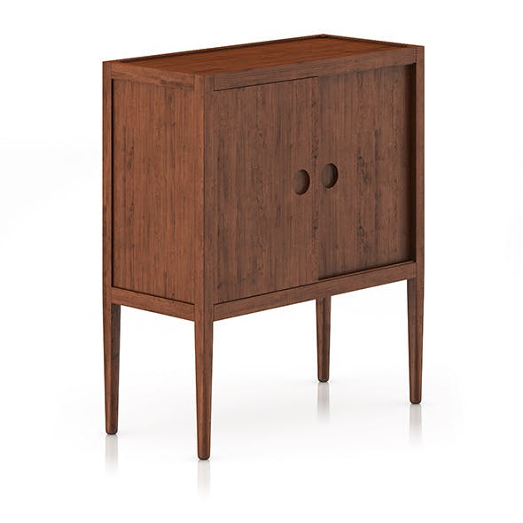 Wooden Cabinet - 3DOcean Item for Sale
