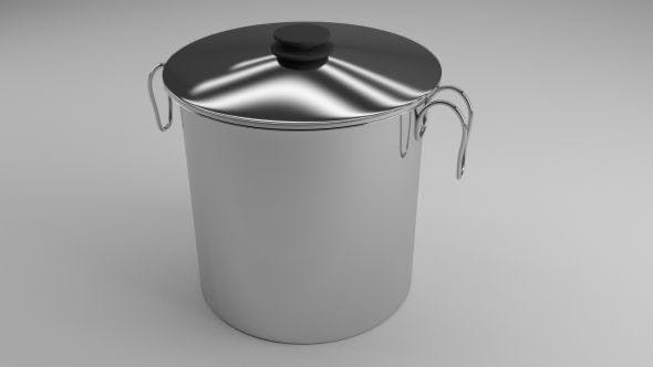 cooking pot - 3DOcean Item for Sale