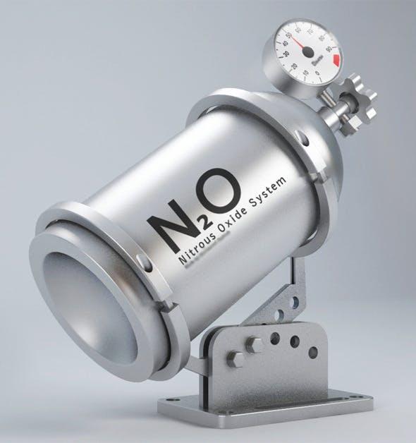 Nitrous Oxide System Tube - 3DOcean Item for Sale