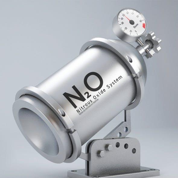 Nitrous Oxide System Tube
