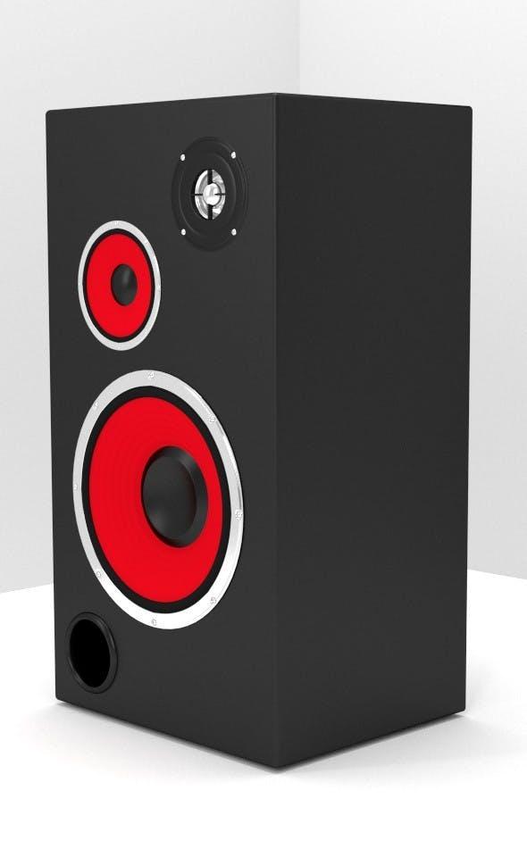 3-Way Speaker - 3DOcean Item for Sale
