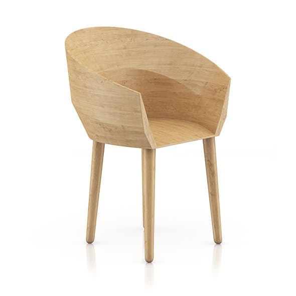 Wooden Chair 9 - 3DOcean Item for Sale