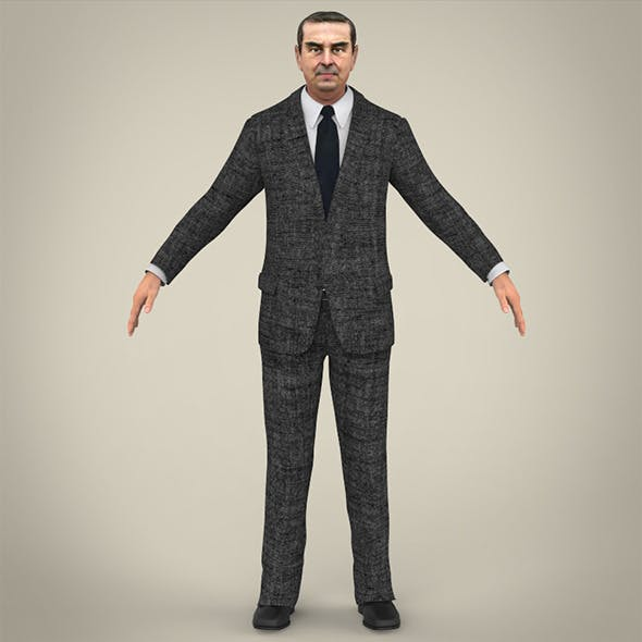 Realistic Business Man