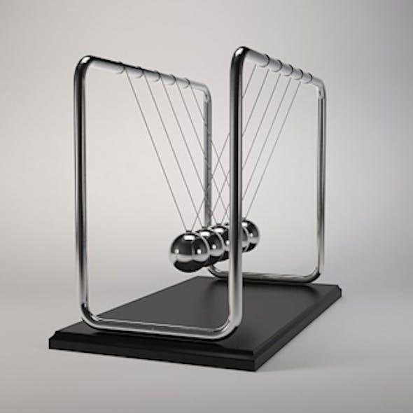 Newtons cradle Pendulum