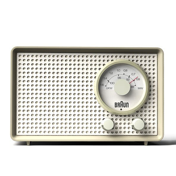 Braun SK2 transistor radio