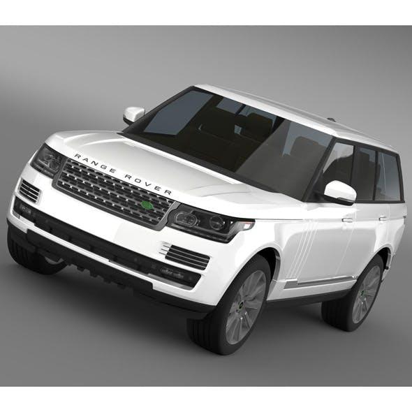 Range Rover Vogue SE SDV8 L405 - 3DOcean Item for Sale