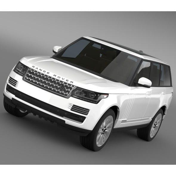 Range Rover Vogue TDV6 L405 - 3DOcean Item for Sale