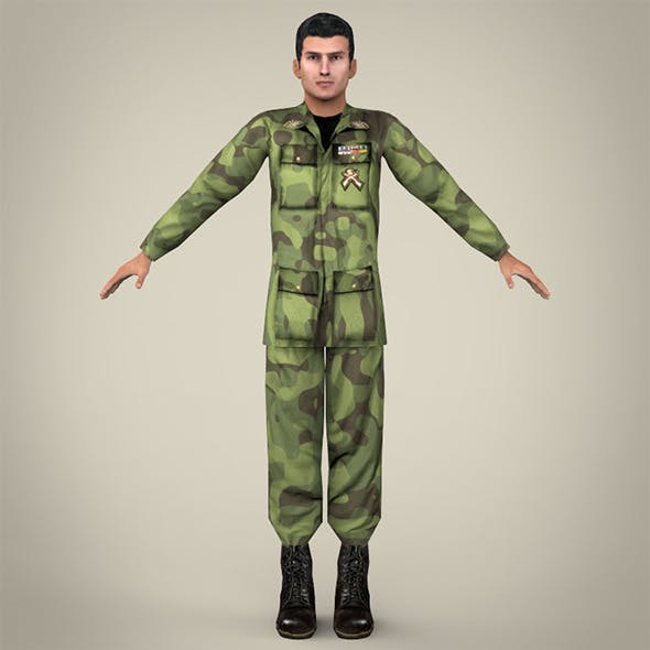 Realistic Soldier