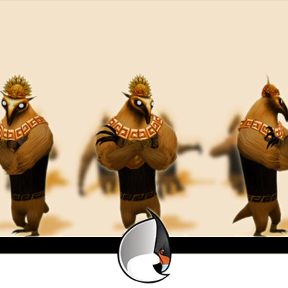 Anteater Low-Poly Character Pack