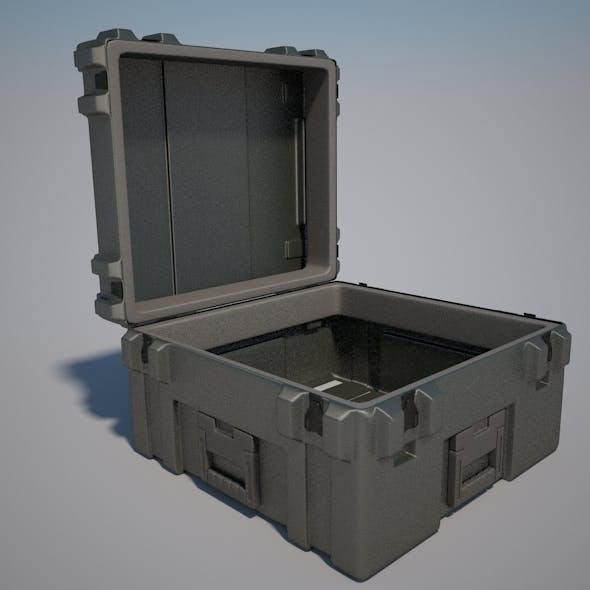 Military Case - 3DOcean Item for Sale