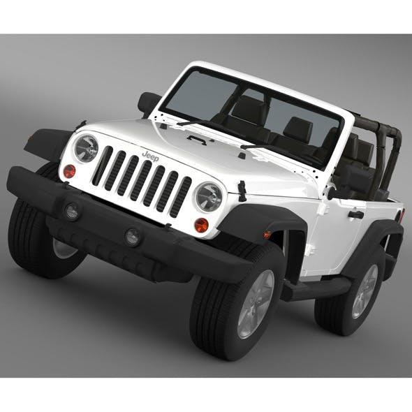 Jeep Wrangler Islander Edition 2010 - 3DOcean Item for Sale