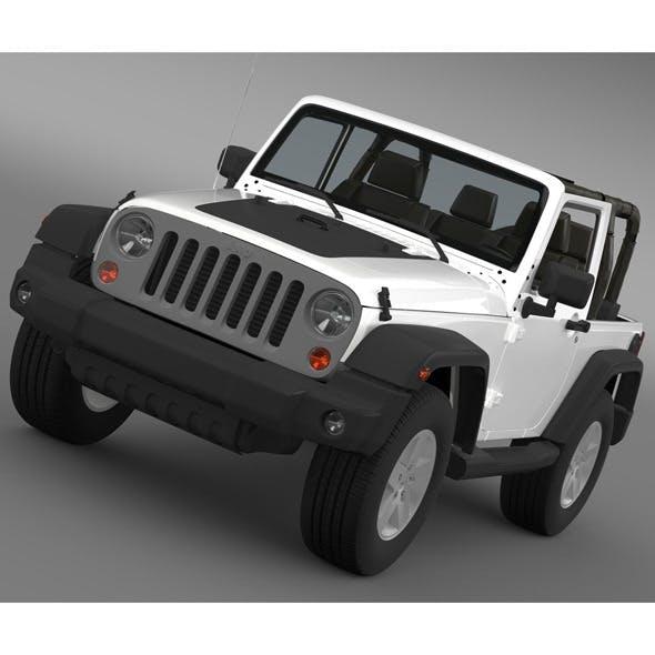 Jeep Wrangler Mountain 2012 - 3DOcean Item for Sale