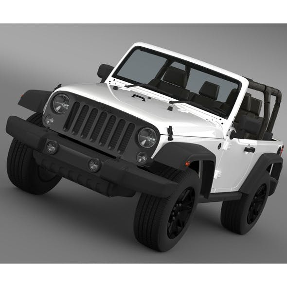 Jeep Wrangler Willys 2014 - 3DOcean Item for Sale
