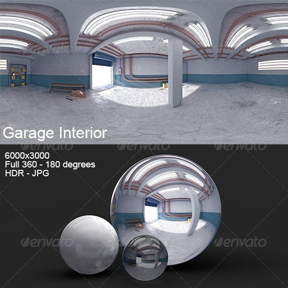 Garage Interior HDRI