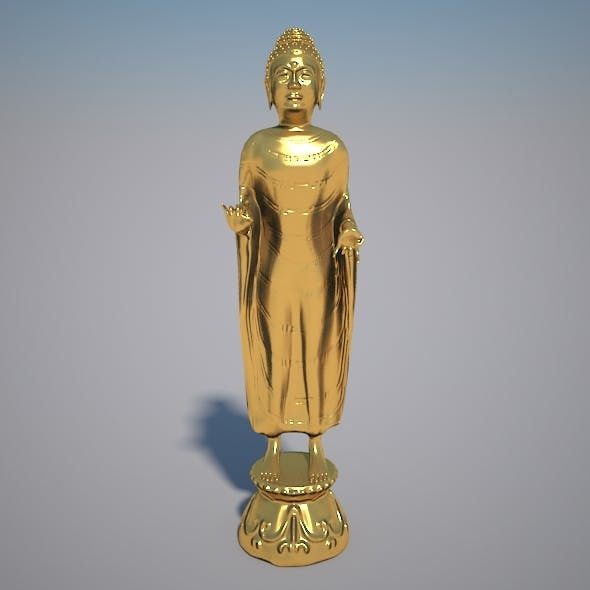 Budha Statue - 3DOcean Item for Sale
