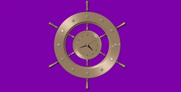 Wall Clock - 3DOcean Item for Sale