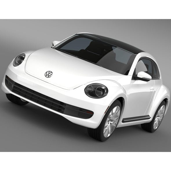 Volkswagen Maggiolino - 3DOcean Item for Sale