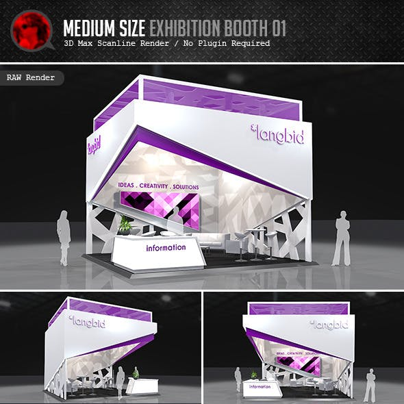 Medium Size Exhibition Booth 01